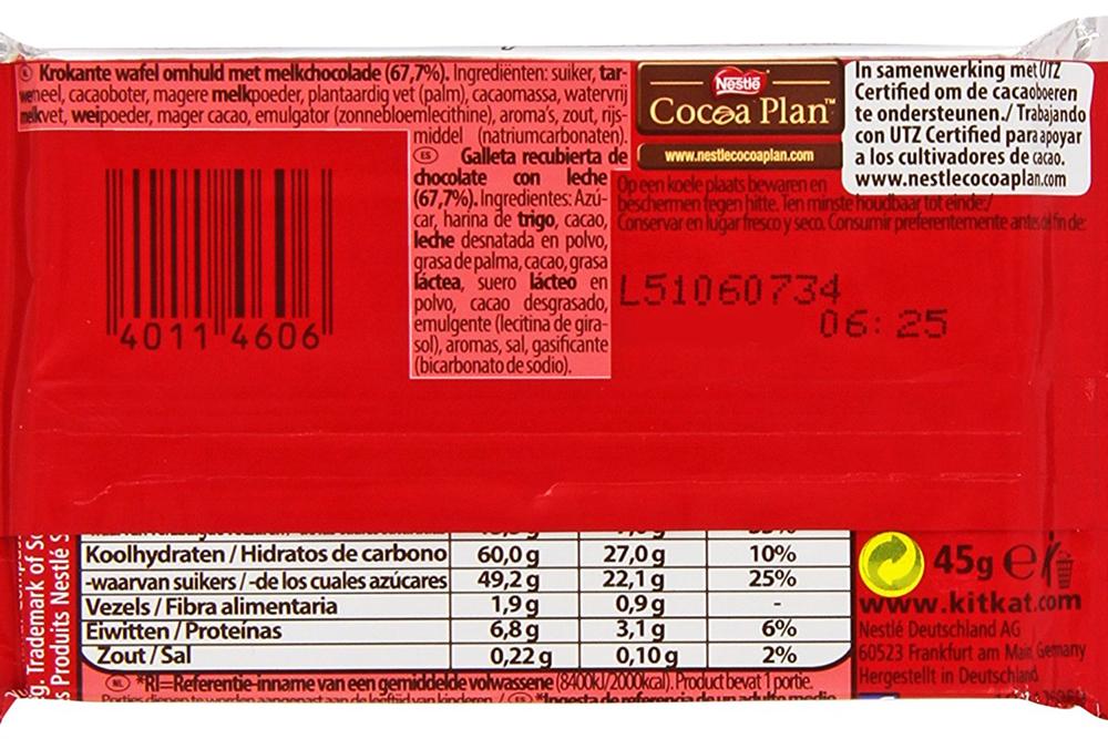 Ley de etiquetado después de 2011